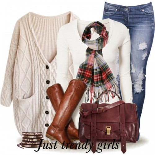 chic girly outfit