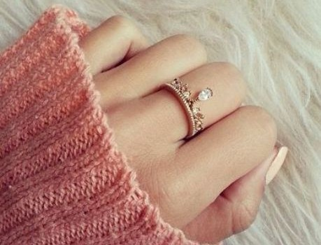 Cute and trendy  rings for woman