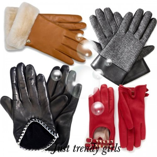 Gothic Punk Rock Lady fingerless Gloves,