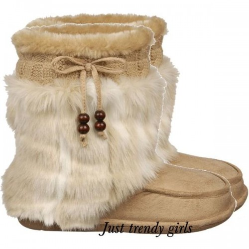 Fur and Lace-Up boots