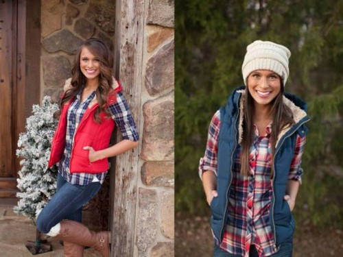 how to wear puffey vests