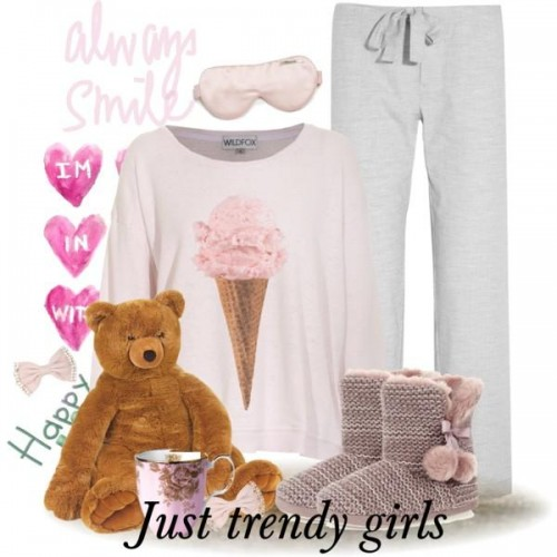cute girly pajamas