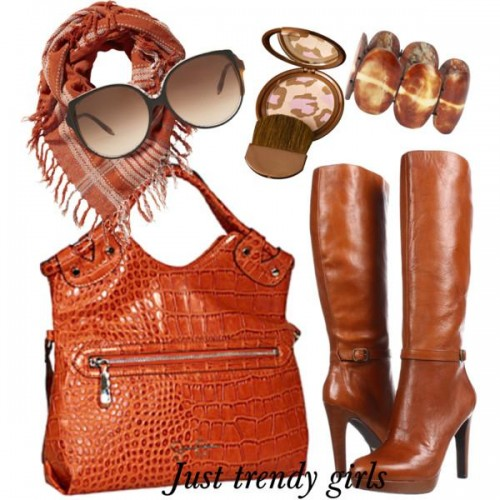 Winter bags and boots for women