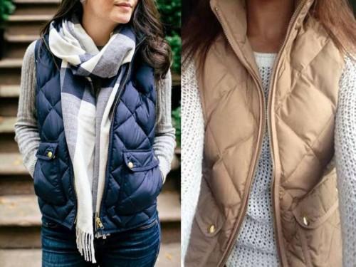 puffer vests styles