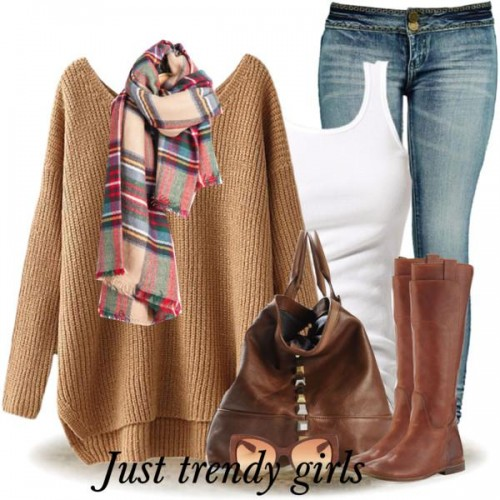 cognac boots outfits