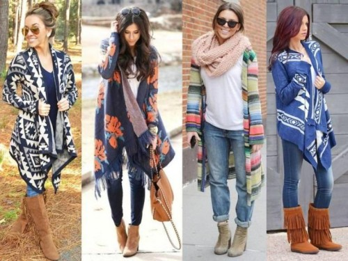 how to wear a long sweater…