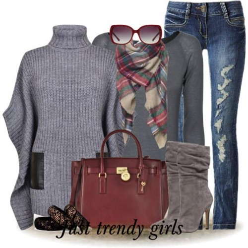 Hot Winter Outfit Fashion Ideas For 2015