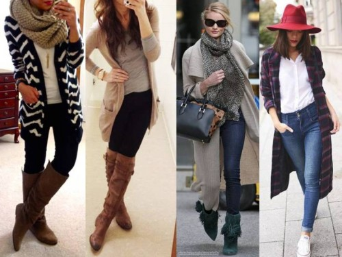 street style for long cardigans
