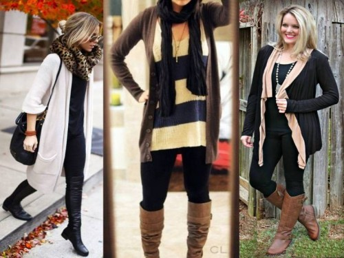 tips for wearing long cardigans