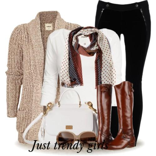 great winter outfit ideas � just trendy girls