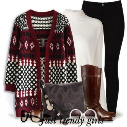maroon bohemian cardigans outfits