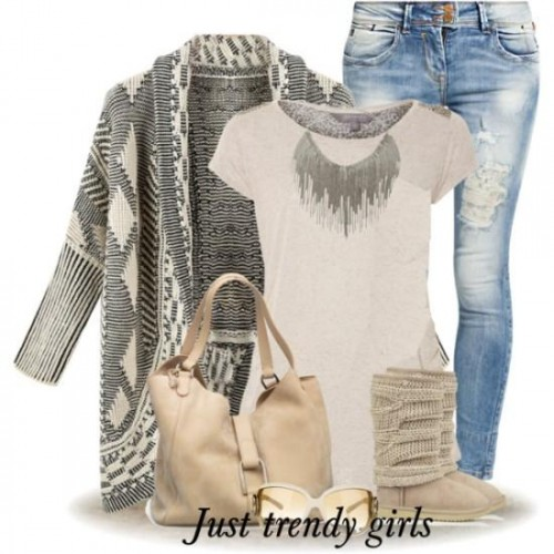 Bright Tribal Cardigan