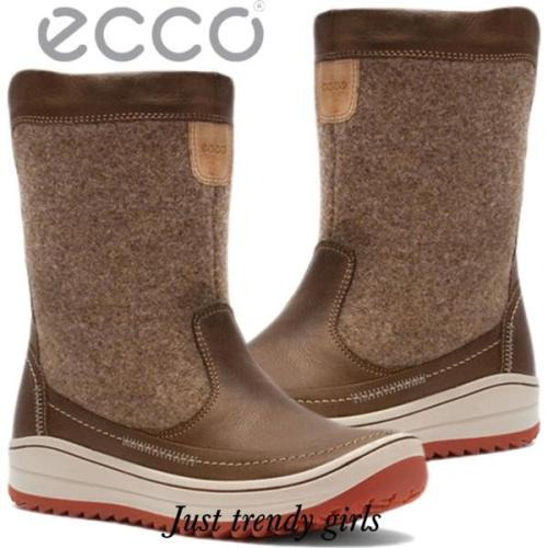 Fantastic Snow Boots ECCO - Trace 83404351052 Black/Black - Winter ...