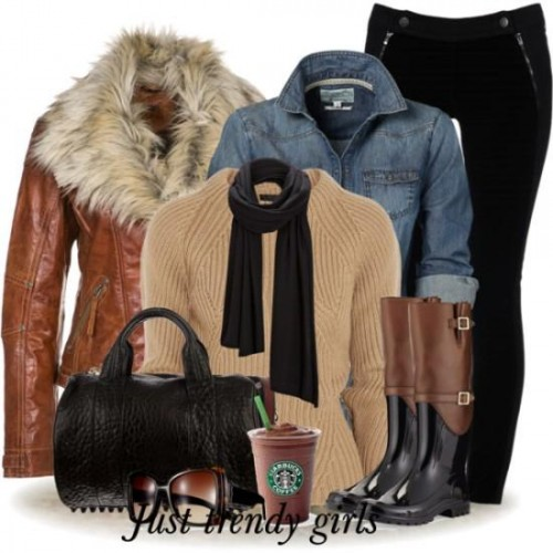 chic stylish winter outfits