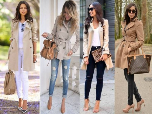 , Mid-Length Trench Coat