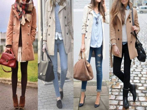 street style trench coats outfits