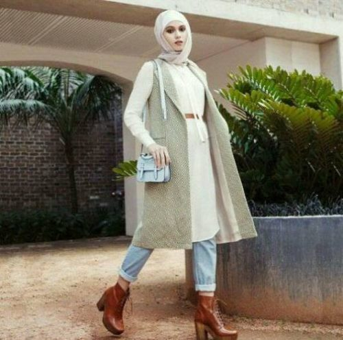How To Layering With Hijab Just Trendy Girls