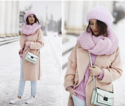 pink and blush outfit