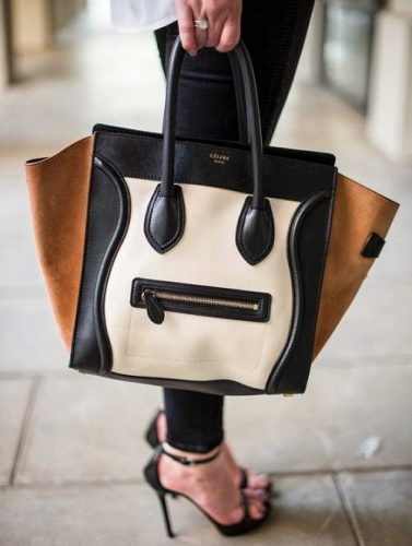 Celine Paris Leather Handbag