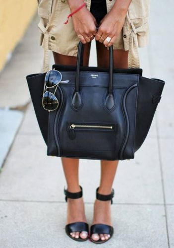 Celine bag in black