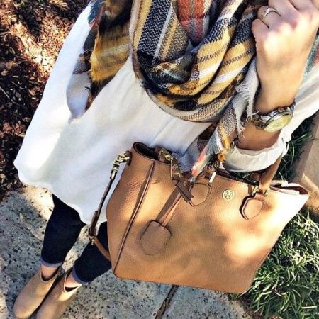 chic cozy outfit
