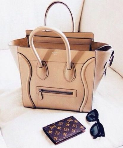 nude celine purse