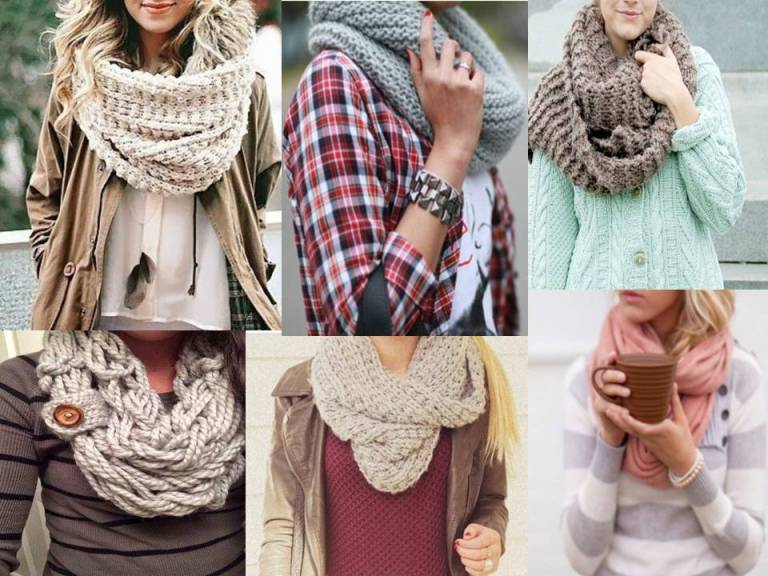 Stylish scarves and snoods for winter