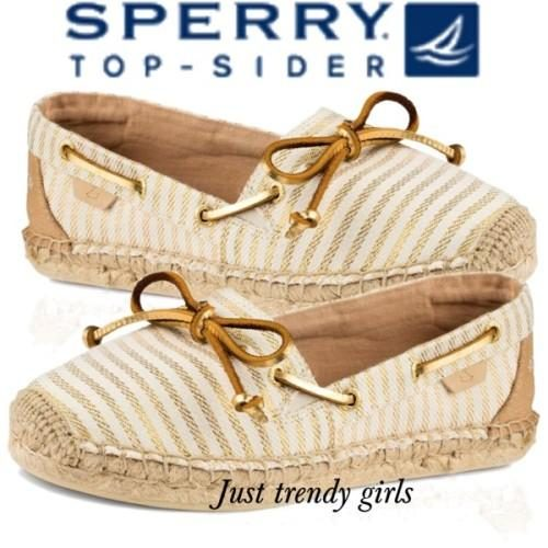 Sperry Top-Sider Women's Shoes, slip on shoes,