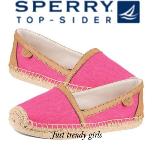 sperry hot pink