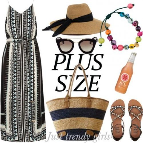 aztec tribal plus size maxi dress,