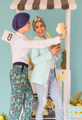 hijab fashion tunics