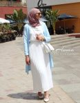 Spring breathy hijab outfits