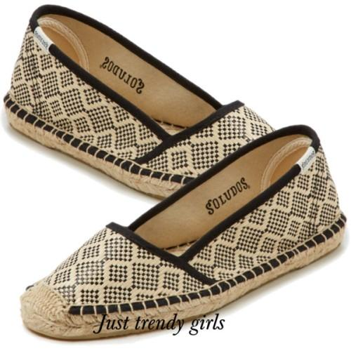 Soludos canvas shoes