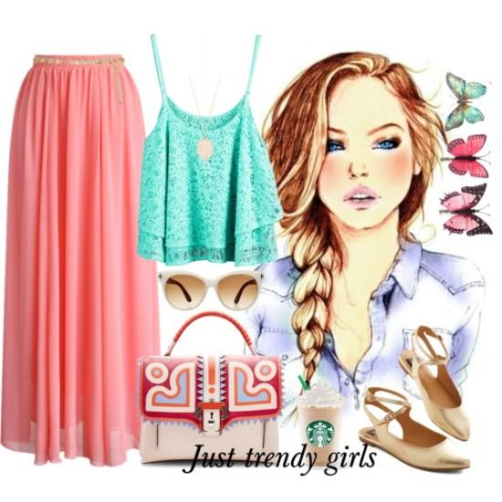 Stylish teens summer outfits – Just Trendy Girls