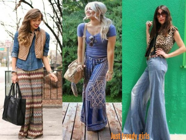 How To Wear Palazzo Pants Just Trendy Girls Adorable Patterned Flowy Pants