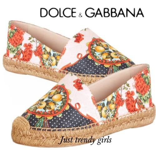 D&G contemporary graphic shoes