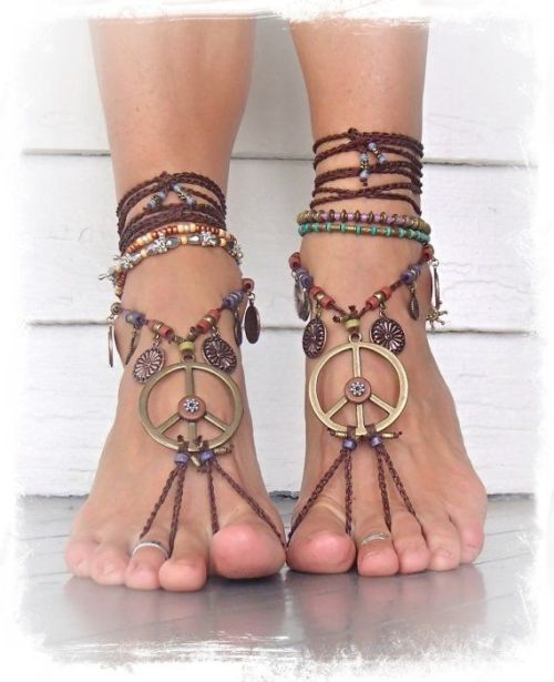 0d6ebfac8 earthy PEACE sign BAREFOOT sandals – Just Trendy Girls