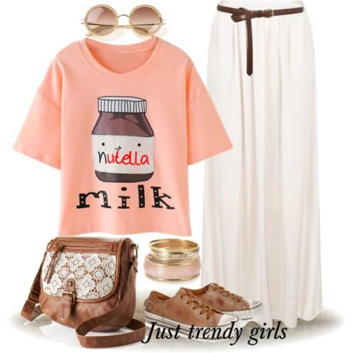 graphic nutella tee outfit
