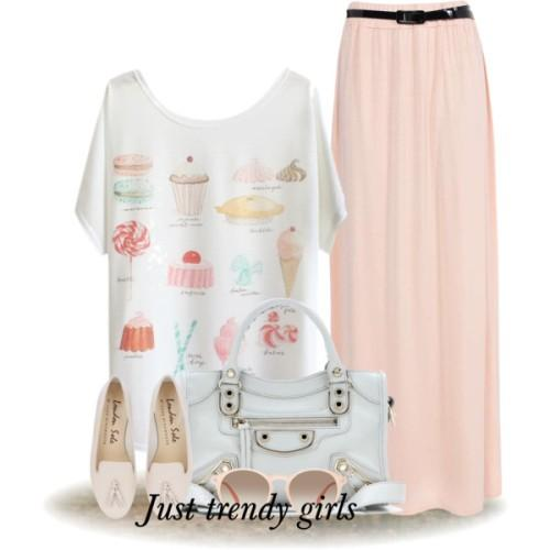 ice-cream graphic tee outfit