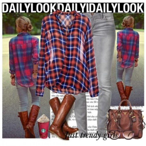 Casual Plaid shirts Outfits