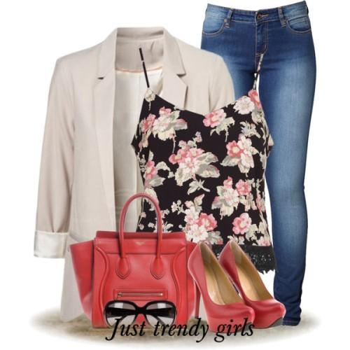 floral tops outfits
