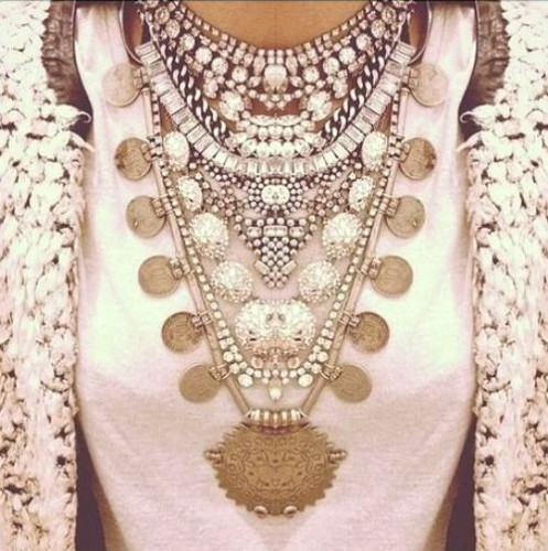 , Dazzling Statement Necklace