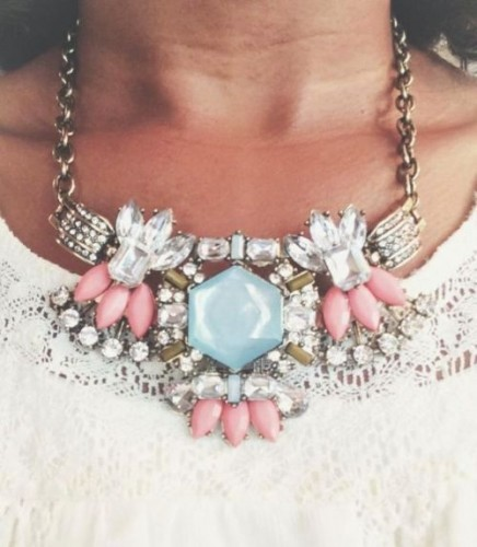 Dazzling Statement Necklace