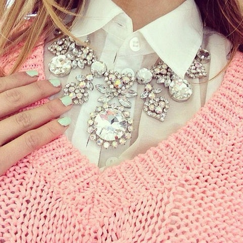 Dazzling Statement Necklace,