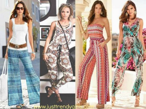 jumpsuit in bohemian look