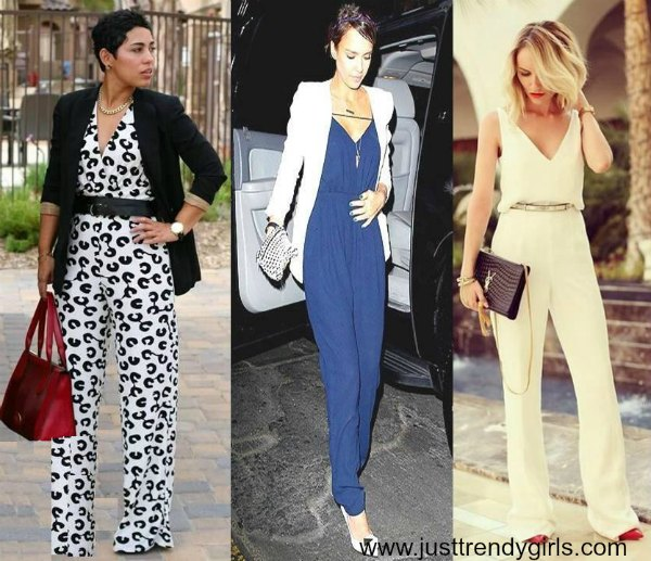 How To Style Your Jumpsuit Just Trendy Girls