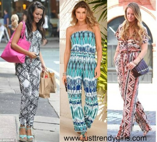 geometric  jumpsuits