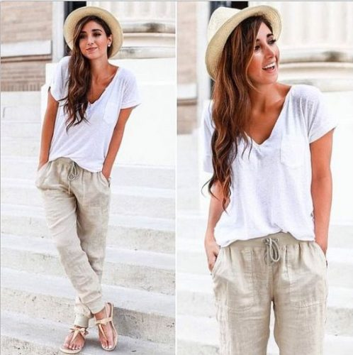 neutral comfy outfit