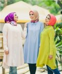 Delicate hijab designs for women