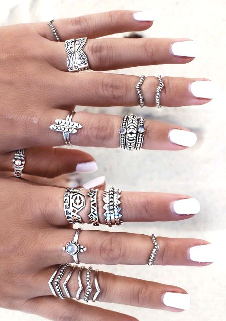 ring rings sets best on ideas stackable pinterest stacked